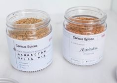 Wystawa Everydayta Hanna Kang Brown Census Spices3 http://www.lodzdesign.com/index.php/programme-2016/exhibitions/curator-exhibitions/everydayta-en-gb/