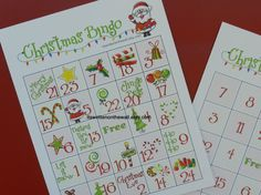 Excellent game for School Christmas Parties- 24 unique sheets included   Christmas Bingo is fun for all