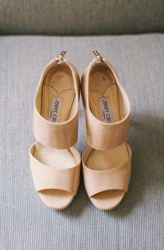 "Perfect ""I do"" shoes from jimmychoo.com Photography: Judy Pak Photography http://judypak.com/"