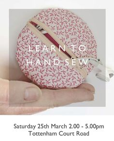 If you love the idea of sewing your own things but aren't quite ready to invest in a sewing machine or a series of sewing classes, this is perfect for you. You'