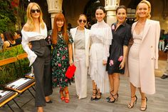 Rosie Huntington-Whiteley, Deborah Lloyd, Nicole Richie, Katy Perry, Camilla Belle, and Amber Valletta