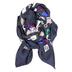 HAVE IT / LOVE IT!!! #Modern #Fashion #Accessories | House Of Cards Square Scarf | $68