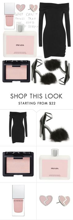 """""""190516"""" by patttiee ❤ liked on Polyvore featuring Donna Karan, Alexander Wang, NARS Cosmetics, Prada, Givenchy and Marc by Marc Jacobs"""