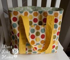 More Like Home: Day 13 - Favorite Tote Bag