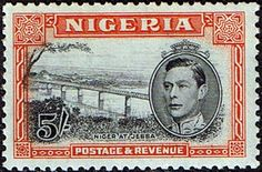 Nigeria 1938 SG 59a Niger at Jebba Fine Mint SG 59a Scott 64 Other British Commonwealth Stamps for sale Here