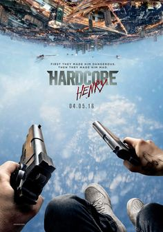 Hardcore Henry is a Russian-American science fiction action film written and directed by Ilya Naishuller. The film stars Sharlto Copley, Danila Kozlovsky, Haley Bennett,. 2015 Movies, Hd Movies, Movies To Watch, Movies Online, Movie Film, Hindi Movie, Movies Free, Netflix Online, Tv Watch