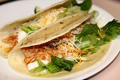 Crockpot Lime Chicken Tacos