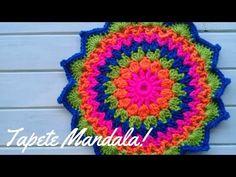 Tapete o individual mandala tejido a crochet – paso a paso Crochet Home, Crochet Granny, Crochet Doilies, Crochet Stitches, Crochet Patterns, Pattern Dots, Dream Catcher Tutorial, Crochet Chicken, Afghan Blanket