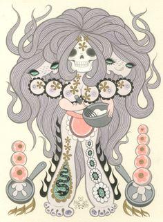 VENUS CAKE Junko Mizuno Solo Exhibition March 16 - April 20, 2012 at Magic Pony