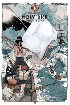 Mic   Penguin Books Classics Audiobook Cover Illustrations   Award-winning Illustration for Advertising   D&AD
