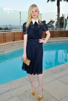Elle Fanning in Ralph Lauren. See 6 other celebrities whose spring style killed it. See 6 other celebrities whose spring style killed it.