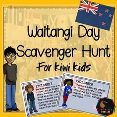 Waitangi Day Scavenger Hunt for years Great activity for New Zealand Classrooms Educational Activities, Preschool Activities, Children Activities, Teaching Tools, Teaching Resources, Teaching Ideas, Treaty Of Waitangi, Waitangi Day, Family Day Care