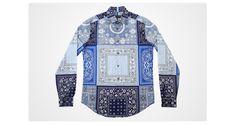 La chemise bandana de Louis Vuitton