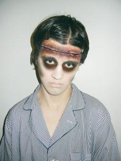 Zombie Makeup. Special Effects Makeup. Elise Harris Makeup.