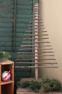 Easy Decorative Twig Christmas Tree - Christmas Decor