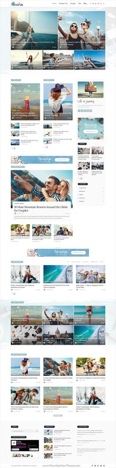 Newsmax is clean and modern design responsive #WordPress theme for #news #blog and #magazine website with 21+ unique homepage layouts download now..