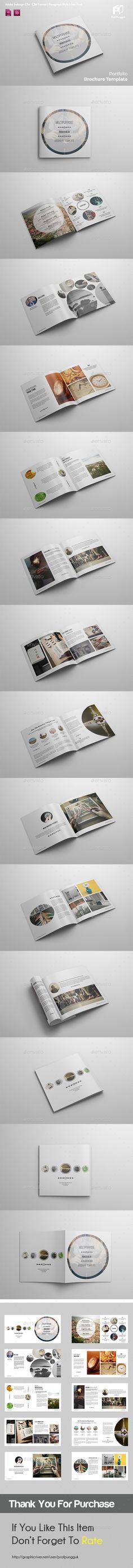 Square Brochure Template InDesign INDD. Download here: https://graphicriver.net/item/square-brochure-vol1/17546146?ref=ksioks