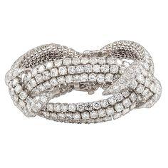 1stdibs - DAVID+WEBB+Superb+Diamond+Bracelet explore items from 1,700+ global dealers at 1stdibs.com