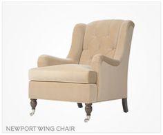 Fine Furniture Newport Wing Chair