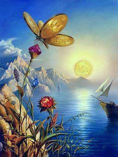 Treasure Island - Vladimir Kush