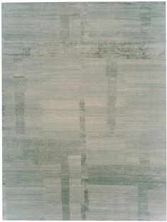 Veranda Cement Himalayan wool and silk {rugs, carpets, modern, home collection, decor, residential, commercial, hospitality, warp & weft}