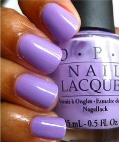 OPI Do You Lilac It--Wearing this currently. LOVE this shade of purple!