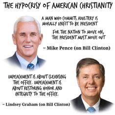 Political Humor And Memes -Mike Pence and Lindsey Graham on Impeachment Mike Pence, Moving Out, Morals, In This World, Sentences, Just In Case, Presidents, Sayings, Frases