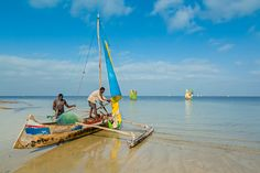 Fishing harbour at Ifaty, near Tulear, Madagascar