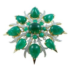 Brooch by Tony Duquette
