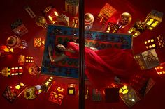Disney princess couture window at Harrods, Christmas 2012 - Jasmine designed by Escada Disney Princess Jasmine, Im A Princess, Aladdin And Jasmine, Disney Princess Dresses, Princess Gowns, Disney Princesses, Christmas Window Display, Window Display Design, Window Displays