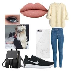 """Lily's Outfit #1 Wattpad- The Lonely Vampire"" by tommy-coma on Polyvore featuring H&M and NIKE"