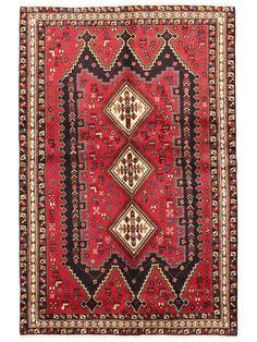 Tapis persans - Afshar  Dimensions:243x160cm