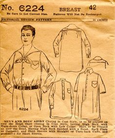 an archaeology of home sewing Mode Masculine, Vintage Patterns, Sewing Patterns, Work Aprons, Army Shirts, Masquerade Costumes, Home Sew, Riding Jacket, Athletic Outfits