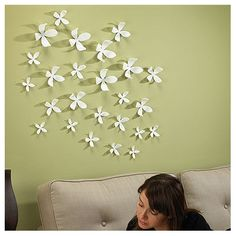 wall flower wall decor