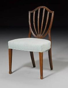 Hepplewhite-style Mahogany Dining Chair - George Hepplewhite - Georgian era (1714 - 1837)