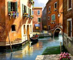 Tarde de Venecia por Sung Kim 39441