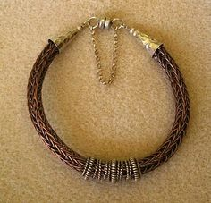 viking knit bracelet