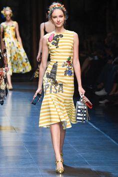 Dolce & Gabbana   Ready-to-Wear - Spring 2016   Look 90