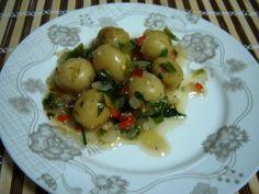 Aprenda a fazer Receita de Batatinhas bolinhas em conserva, Saiba como fazer a Receita de Batatinhas bolinhas em conserva, Show de Receitas