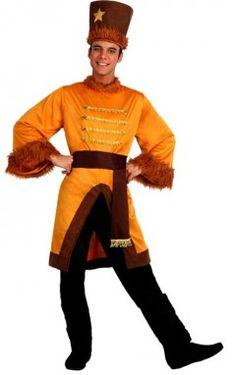 Incarnez le dernier tsar avec ce déguisement russe (ou cosaque) pour homme !