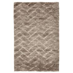 Contemporary Wool Rug - 4'x6'
