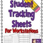 This download includes 4 different varieties of sheets to track student achievement and participation during workstations.  The sheets have a place...