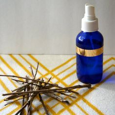 Bug Repellent is full of chemicals! Make your own using witch hazel and essential oils to stay bug free this summer.