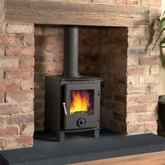 Cast Tec Firemaster 5 Woodburning Stove   Bradley Stoves, Sussex