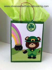 So cute! St pattys day bag!