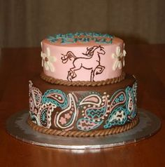 The customers brief was a pink and black 21st Birthday cake with a horse riding, shoe and handbag theme. Description from pinterest.com. I searched for this on bing.com/images