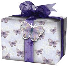 Inspired by the matching greeting card, our Purple Butterfly Giftwrap adds a beautiful finish to your gifts. Butterfly Gifts, Purple Butterfly, Aries Birthday, Gift Packaging, Packaging Ideas, Christmas Gift Wrapping, Love Cards, How To Make Bows, Projects To Try