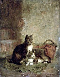 Julius Adam - Cats