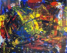 Break The Circle, schilderij van Christian van Hedel | Abstract | Modern | Kunst