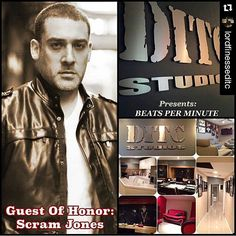 """#Repost @lordfinesseditc  Call me the late messenger: Confirmed as the Guest of Honor for tonight is no other than Producer @scramjones Scram Jones  You being invited to network.. Depends on you.. Every week we hold a producer's networking session called """"Beats Per Minute"""" where you get to play your music & vibe with your peers & established producers. """"THIS IS BY INVITE ONLY!!!!! """" DO NOT INBOX ME FOR A INVITE... ONLY YOUR SKILLS & QUALITY PRODUCTION CAN GET YOU INVITED!!!! To get an invite…"""